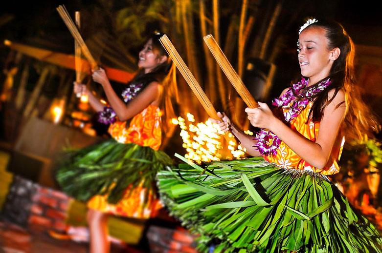 Authentic Luau Hula Kids