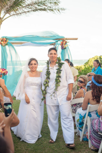 Oahu Gay Wedding on the Beach
