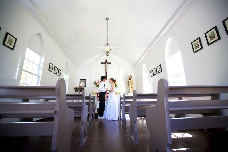 Molokai Chapel Wedding
